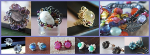 Artisan crafted jewelry.