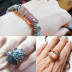 Some new pieces that will be listed later in April, 2013